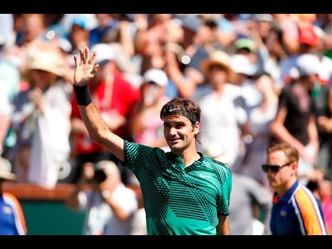 BNP Paribas Open 2017: Roger Federer's Road to the Final