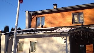 Roof and Parapet Installation