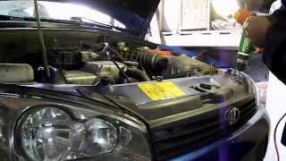 видео Бампер Калина Спорт: ремонтные и монтажные работы