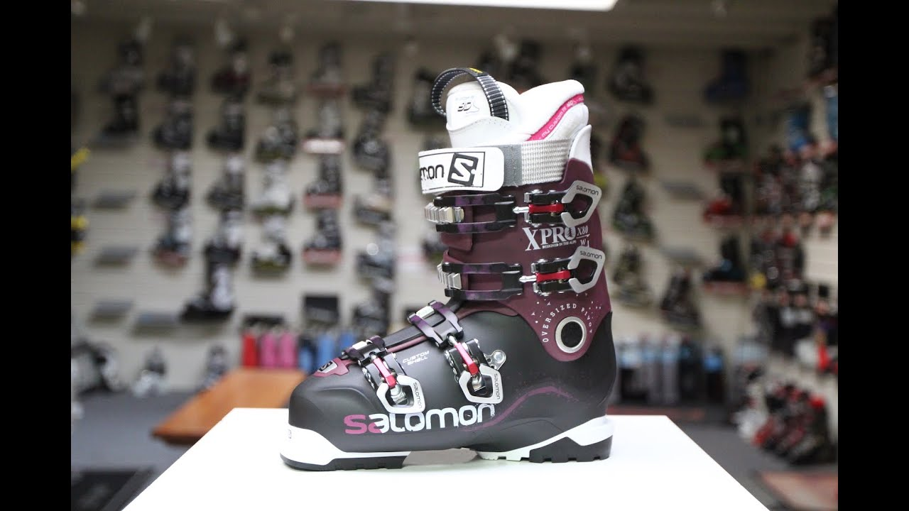 Salomon X Pro 80 W Ski Boot Review - YouTube e0a15eace0
