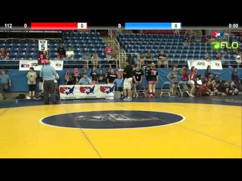Pool B 112 - Maddy Tung (California #2) vs. Kelsey Larkin (Michigan)