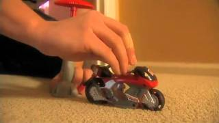 Aircycle Air-powered Motorcycle Toy From Geospace - No Batteries Required!