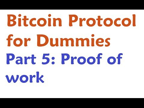 Bitcoin Protocol Tutorial: Proof of Work