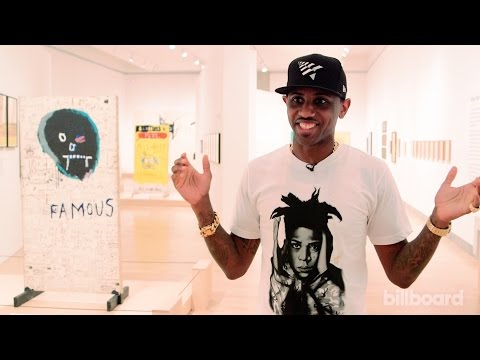 Fabolous Reveals His Artist Past on Tour of Jean-Michel Basquiat Exhibit