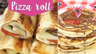 Recetas Fáciles: Pizza Roll Y Hot Cakes Con Nutella ¡sin Horno! ✎ Craftingeek