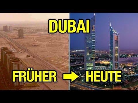 Städte, die sich extrem verändert haben