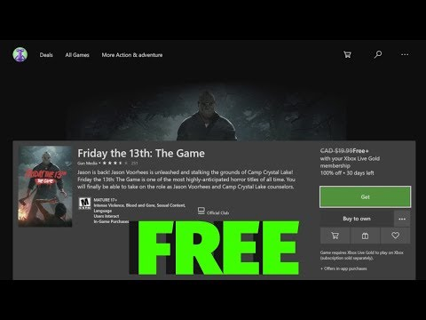 How To Download: Friday The 13th: The Game For FREE In Xbox One   Xbox One S, Xbox One X