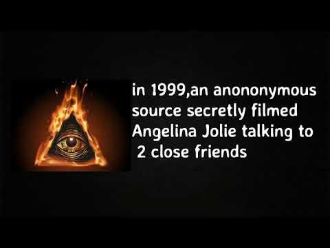Angelina Jolie Talking About Illuminati Sacrifices...