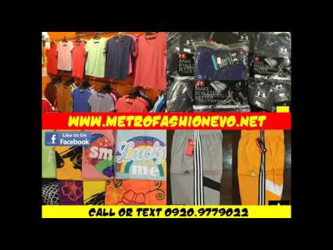 AFFORDABLE RTW SUPPLIER IN MANILA by METROFASHIONEVO