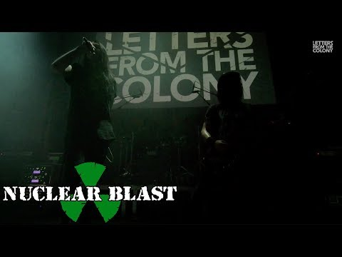 LETTERS FROM THE COLONY - The Final Warning (OFFICIAL LIVE VIDEO)