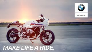 IN THE SPOTLIGHT: The new BMW R nineT Racer