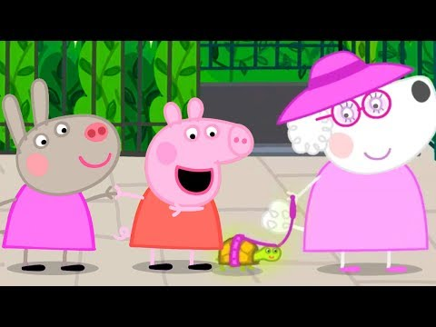 Peppa Pig Official Channel | Peppa Pig's Holiday in Paris with Delphine Donkey
