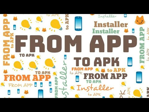How to easily extract or turn your apps into APK installer  #Smartphone #Android