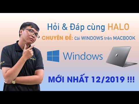 Q&A các câu hỏi thường gặp (FAQ) khi cài WINDOWS cho MACBOOK - HALO MAC