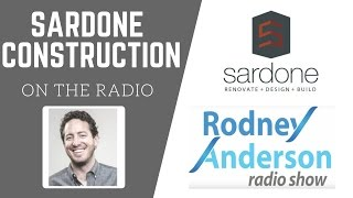 The Rodney Anderson Radio Show | Sardone Construction