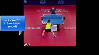 [TT Speed Analysis] Zhu Yuling Slower than ITO Mima by 50 ms (At Best)