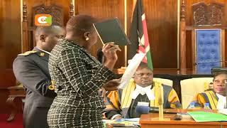 George Okode achaguliwa tena kuwa spika wa bunge la Siaya