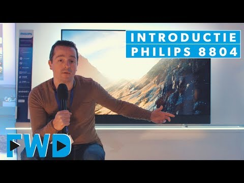 Philips 8804 lcd led tv-serie met Bowers & Wilkins soundbar