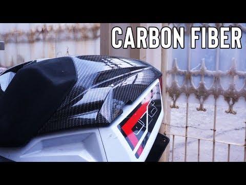 Carbon Fiber Single Seat Cover for Ninja 300/400