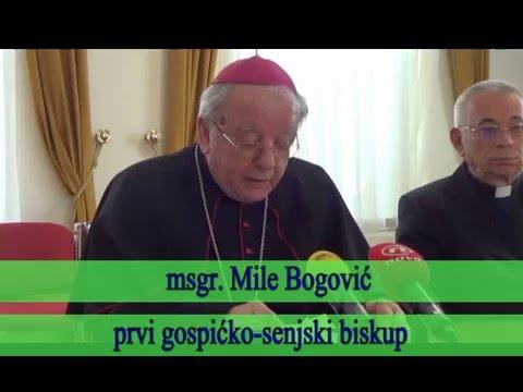 Novi biskup u Gospiću © Marko Čuljat Lika press www.licke-novine.hr Lička televizija Gospić LTVG