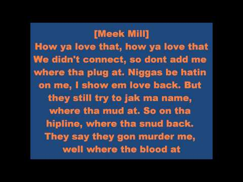 Red Cafe ft. Meek Mill and Tity Boi- How You Love That (lyrics) [download]