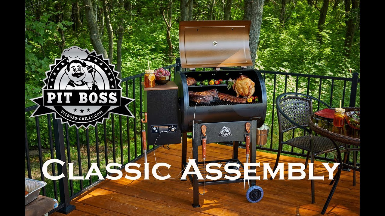 Pit Boss Classic Assembly video