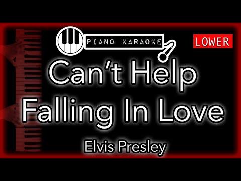 Can't Help Falling (In Love) - Haley Reinhart - Piano Karaoke