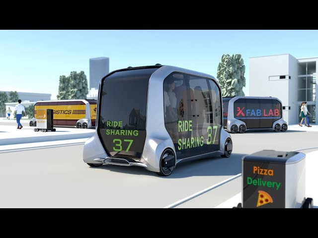 Toyota announces e-Palette vehicle as its future of mobility at CES 2018