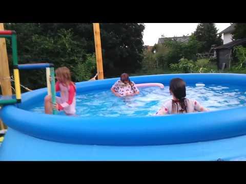 bauhaus tv produktvideo schwimmbecken 39 easy pool 39 doovi. Black Bedroom Furniture Sets. Home Design Ideas