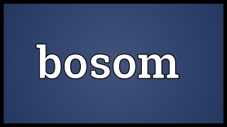 Bosom Meaning