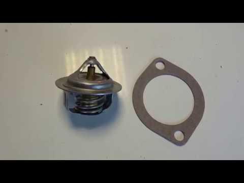 Замена термостата на Mazda Demio