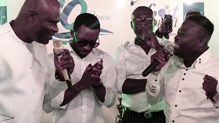 Brother Sammy and Uncle Ato Perform at Footprints TV Celebrity Hangout...Bernice Ofei is a Legend