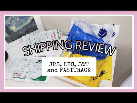 Online Business: Shipping With JRS, LBC, J&T And, Fasttrack