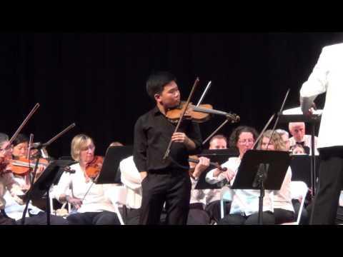 Austin Kwoun - Zigeunerweisen Op 20 with Boston Civic Symphony