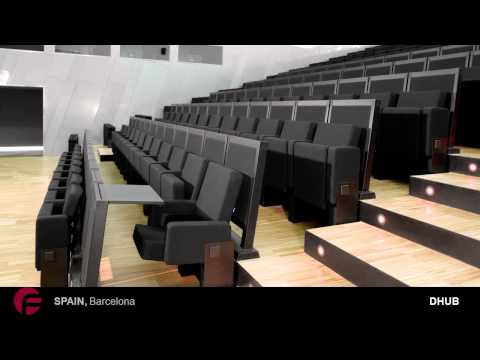 Conference Rooms seats Design by Figueras