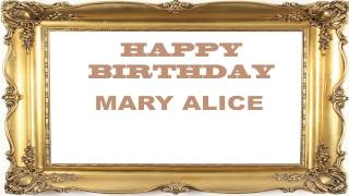 MaryAlice   Birthday Postcards & Postales - Happy Birthday