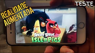 Joguei O Angry Birds Ar Isle Of Pigs  Gameplay No Iphone.