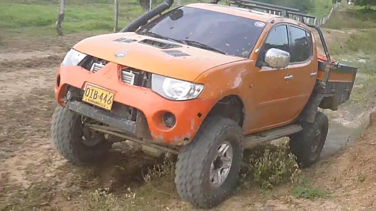 Mitsubishi Sportero - Solid Axle Conversion