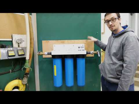 How To Install An Ultraviolet Water Treatment System