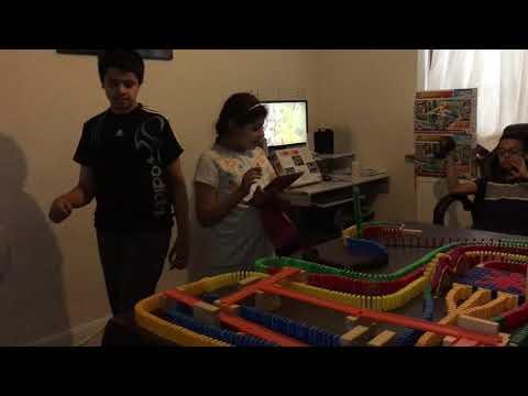 Domino TV📺- Rube Goldberg Machine 75- Countries of the World🌎80-  Tristan Da Cunha 1080p60 1/180