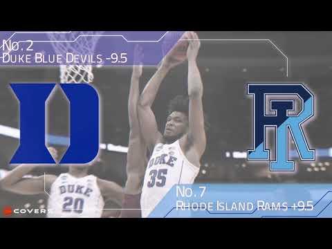 March Madness Betting Breakdown: No. 2 Duke vs. No. 7 Rhode Island