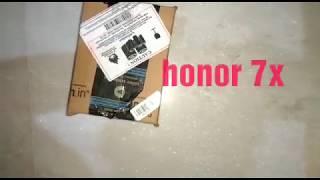 Huawei honor 7x best-range Smartphone #Unboxing