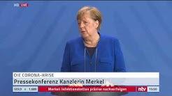 Live: Bundeskanzlerin Merkel äußert sich persönlich zur Corona-Krise