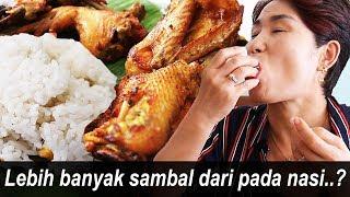 Kalau Cabe mama pertamakali coba Nasi Uduk?!