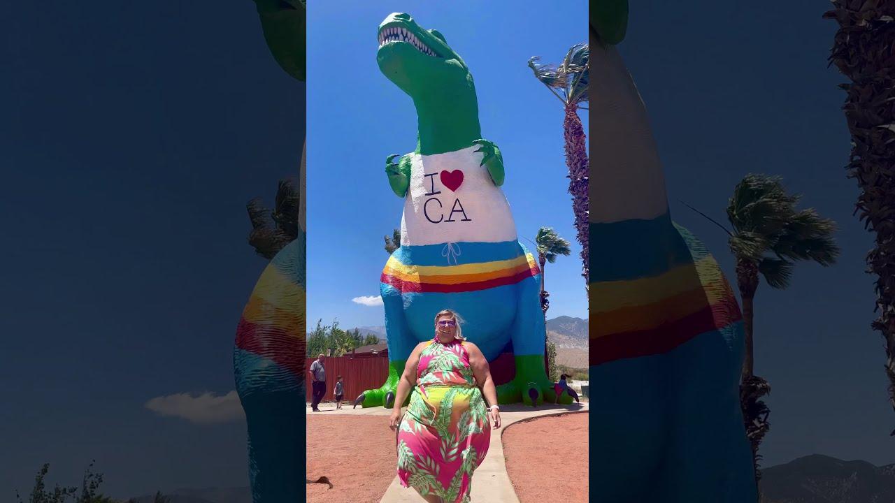 Cabazon, CA- It's Dino-mite!!! #shorts