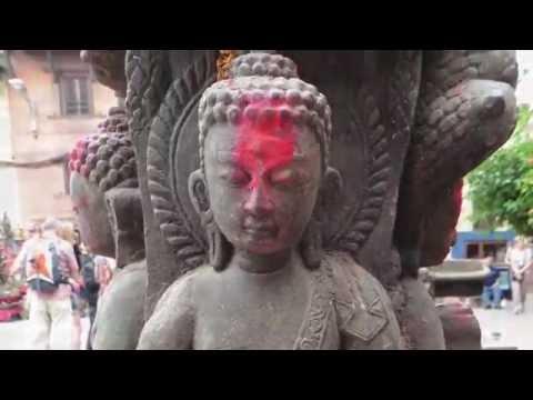 Sarah's trip to Kathmandu, Nepal