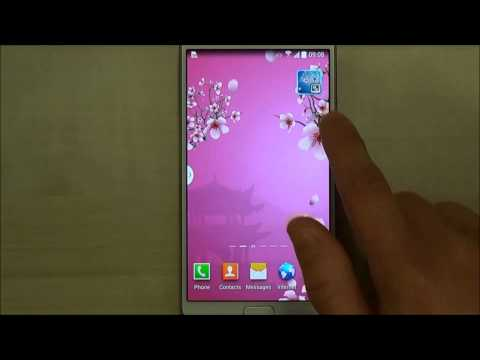 Abstract Sakura Live Wallpaper for Android