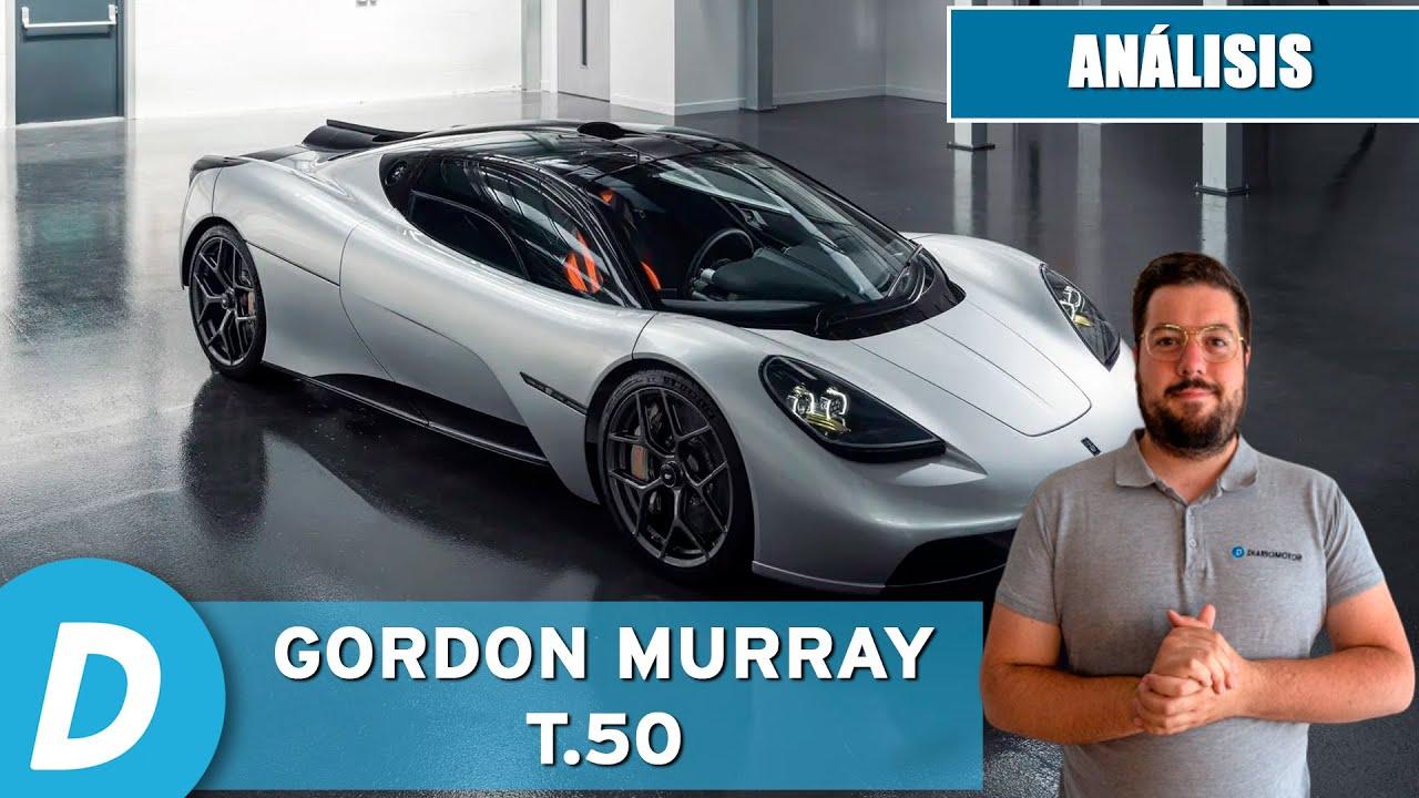 Gordon Murray T.50: un McLaren F1 de segunda generación | Análisis | Diariomotor