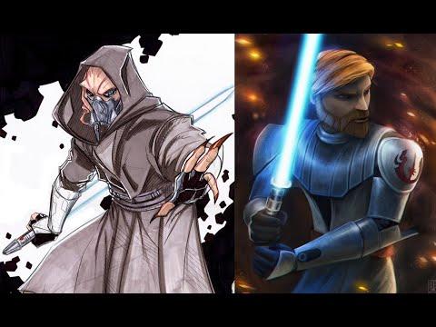 Versus Series Plo Koon VS Obi-Wan Kenobi