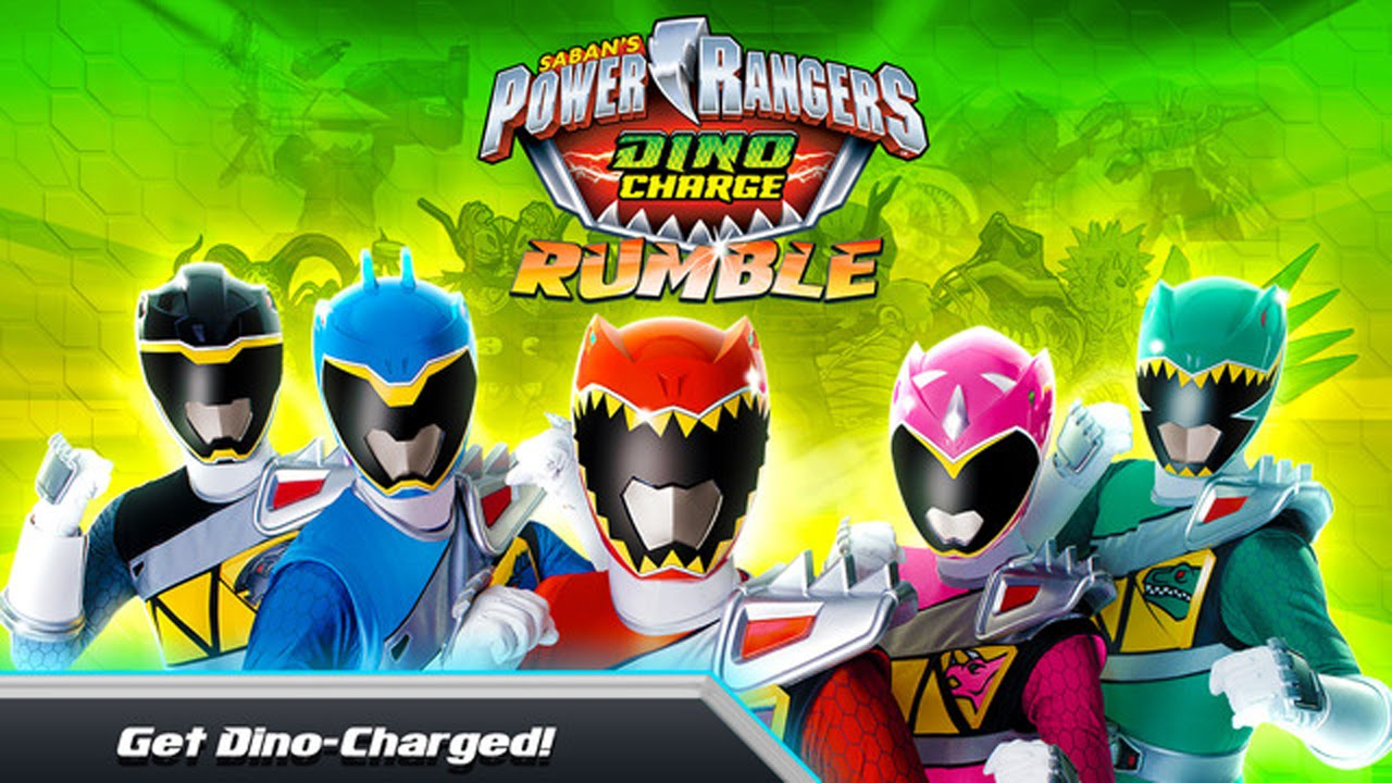 Power Rangers Dino Charge Rumble Gameplay Ios Android